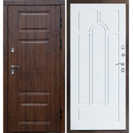 Входная металлическая дверь Сенатор Терморазрыв 3К Райтвер цвет Венге