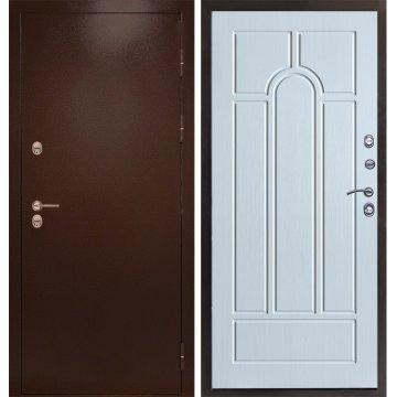 Входная металлическая дверь Сенатор Премиум-5R цвет панели Беленый дуб