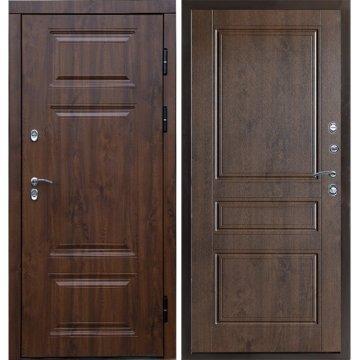 Входная металлическая дверь Сенатор Премиум-5R цвет панели Орех премиум