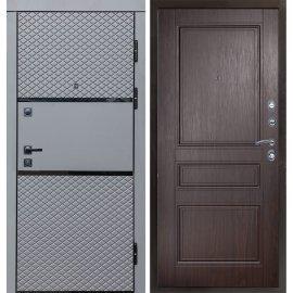 Входная металлическая дверь Сенатор Премиум-6R цвет панели Эко-дуб