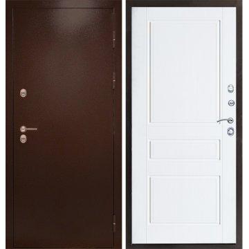 Входная металлическая дверь Сенатор Премиум-4R цвет панели Лиственница беж