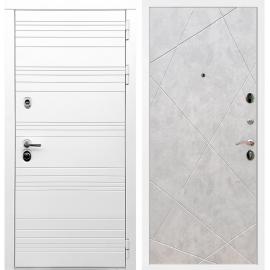 Входная металлическая дверь Сенатор Классика ФЛ-291 Бетон светлый