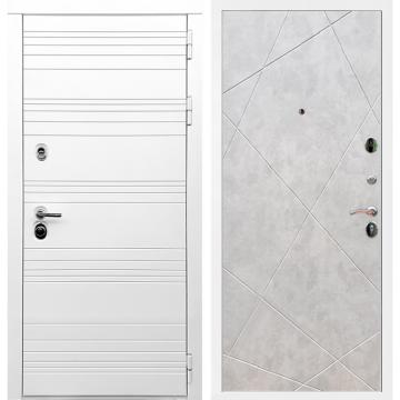 Входная дверь Классика ФЛ-291 Бетон светлый