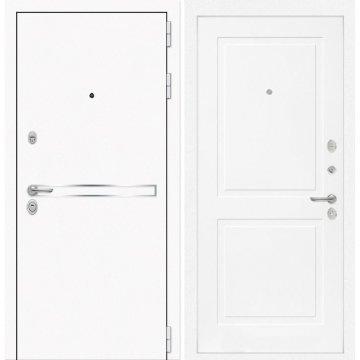 Входная дверь Самальта ФЛ-11 Белый софт