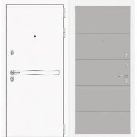 Входная металлическая дверь Сенатор Самальта ФЛ-13 Грей софт