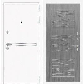 Входная металлическая дверь Сенатор Самальта ФЛ-6 Сандал серый