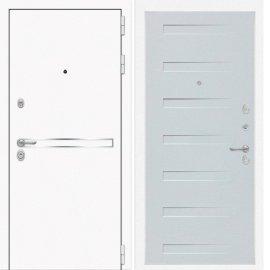 Входная металлическая дверь Сенатор Самальта ФЛ-14 Дуб кантри белый