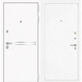 Входная металлическая дверь Сенатор Самальта ФЛ-7 Белое дерево