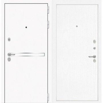 Входная дверь Самальта ФЛ-7 Белое дерево