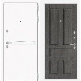 Входная металлическая дверь Сенатор Самальта ФЛ-10 Дуб филадельфия