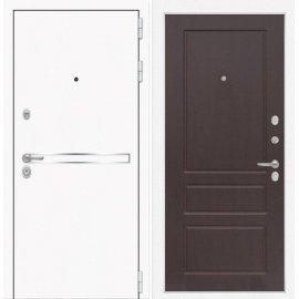 Входная металлическая дверь Сенатор Самальта ФЛ-3 Орех премиум