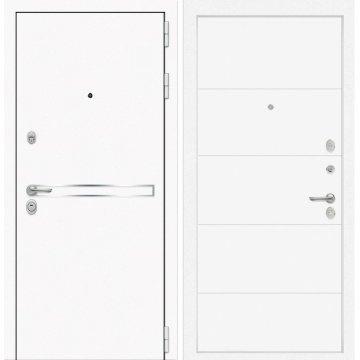 Входная дверь Самальта ФЛ-13 Белый софт