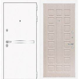 Входная металлическая дверь Сенатор Самальта ФЛ-4 Беленый дуб
