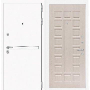 Входная дверь Самальта ФЛ-4 Беленый дуб