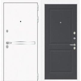 Входная металлическая дверь Сенатор Самальта ФЛ-11 Графит софт