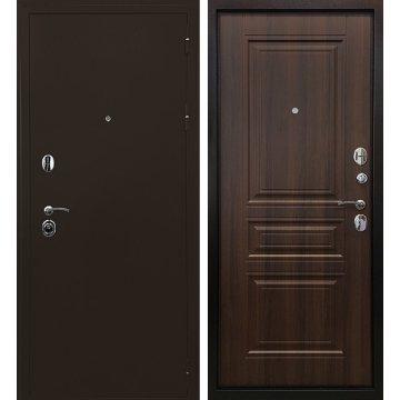 Входная дверь Престиж 6R Антик медь | Орех бренди