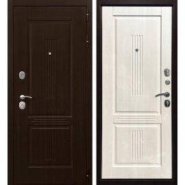 Входная металлическая дверь Сенатор Престиж 4R Лиственница беж