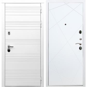 Входная дверь Классика ФЛ-291 Белый силк сноу