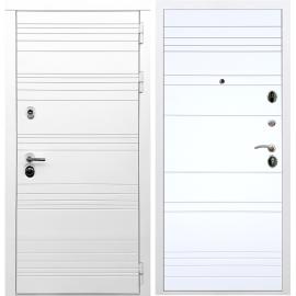Входная металлическая дверь Сенатор Классика ФЛ-316 Белый силк сноу