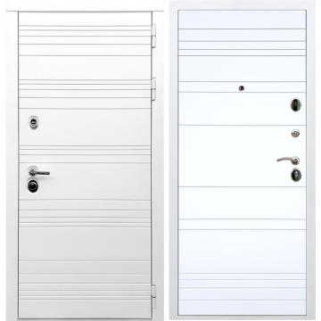 Входная дверь Классика ФЛ-316 Белый силк сноу