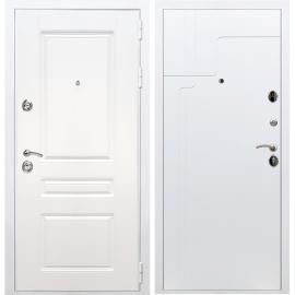 Входная металлическая дверь Сенатор Император 3к ФЛ-246 Белый силк сноу