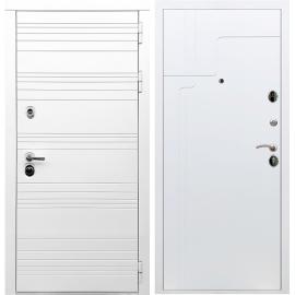 Входная металлическая дверь Сенатор Классика ФЛ-246 Белый ясень