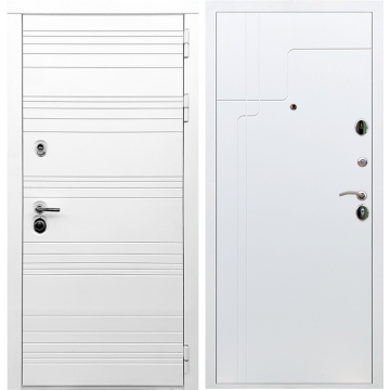 Входная дверь Классика ФЛ-246 Белый ясень
