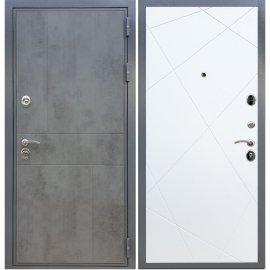 Входная металлическая дверь Сенатор Ультиматум ФЛ-291 Белый силк сноу