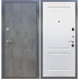 Входная металлическая дверь Сенатор Ультиматум ФЛ-117 Белый силк сноу