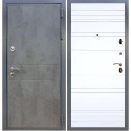 Входная металлическая дверь Сенатор Ультиматум ФЛ-316 Белый силк сноу