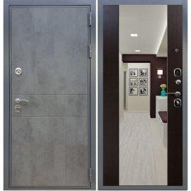 Входная металлическая дверь Сенатор Ультиматум СБ-16 Венге с зеркалом