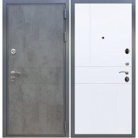 Входная металлическая дверь Сенатор Ультиматум ФЛ-290 Белый силк сноу