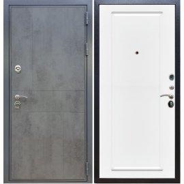 Входная металлическая дверь Сенатор Ультиматум ФЛ-119 Белый силк сноу
