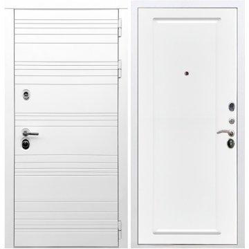 Входная дверь Классика ФЛ-119 Белый силк сноу
