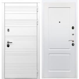 Входная металлическая дверь Сенатор Классика ФЛ-117 Белый силк сноу