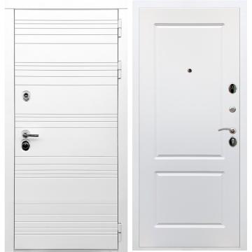 Входная дверь Классика ФЛ-117 Белый силк сноу