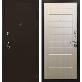 Входная металлическая дверь Сенатор Престиж ФЛ 201 Лиственница беж