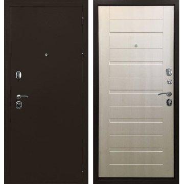 Входная дверь Престиж ФЛ 201 Лиственница беж