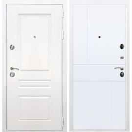 Входная металлическая дверь Сенатор Император 3к ФЛ-290 Белый силк сноу