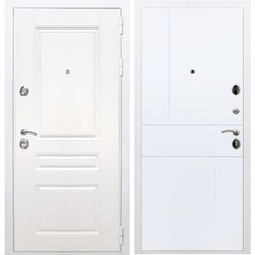 Входная белая дверь Император 3к ФЛ-290 Белый силк сноу