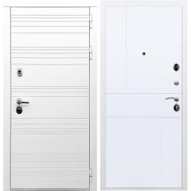 Входная металлическая дверь Сенатор Классика ФЛ-290 Белый силк сноу