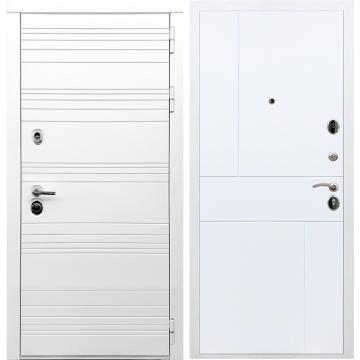 Входная дверь Классика ФЛ-290 Белый силк сноу