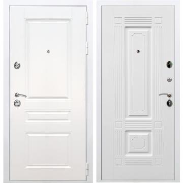 Входная белая дверь Император 3к ФЛ-2 Белый силк сноу