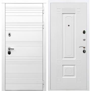 Входная дверь Классика ФЛ-2 Белый силк сноу