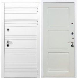 Входная металлическая дверь Сенатор Классика ФЛ-3 Софт шампань