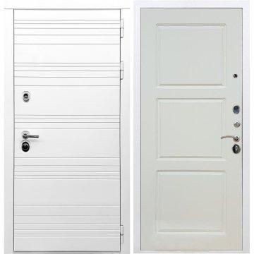 Входная дверь Классика ФЛ-3 Софт шампань