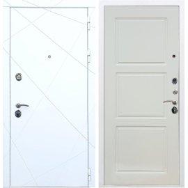 Входная металлическая дверь Сенатор Олимпия - 13 ФЛ-3 Софт шампань