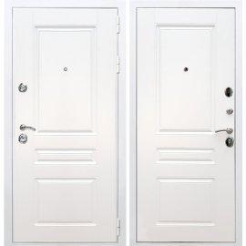 Входная металлическая дверь Сенатор Император 3к ФЛ-243 Белый силк сноу
