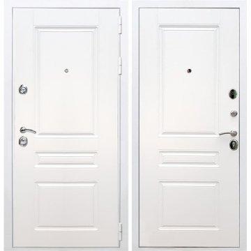 Входная белая дверь Император 3к ФЛ-243 Белый силк сноу