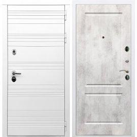 Входная металлическая дверь Сенатор Классика ФЛ-117 Бетон светлый